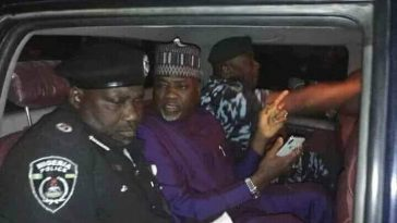 Election: Kano State Deputy Governor And Commissioner Arrested By Police At Collation Centre [Photos/Video] 1