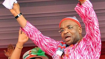 """""""God Crushed APC And All Its Federal Might"""" – Governor Udom Of Akwa Ibom Reacts To His Victory 4"""