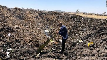 Black Box recovered from crashed Ethiopian Airline 1