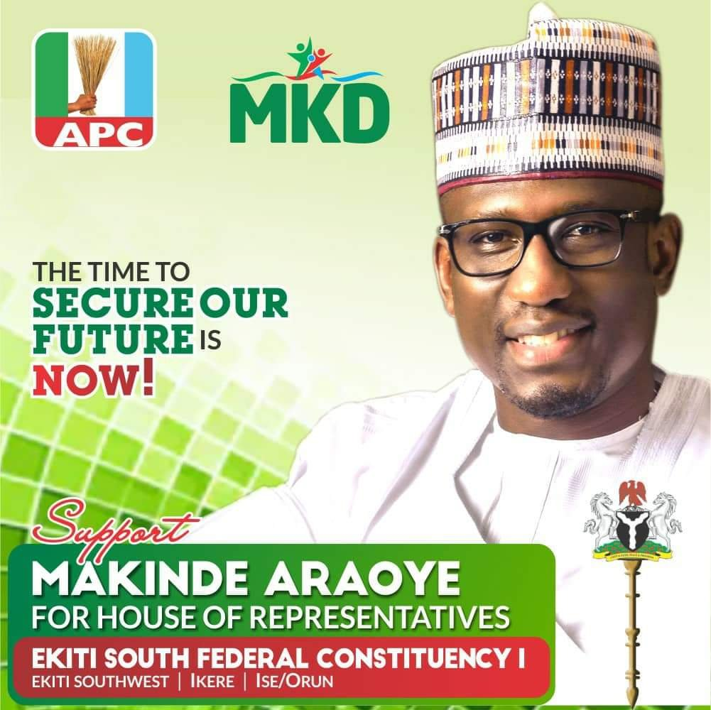 Hon. Makinde Araoye appointed as Special Adviser on Federal Matters to Ekiti State Governor Kayode Fayemi 1