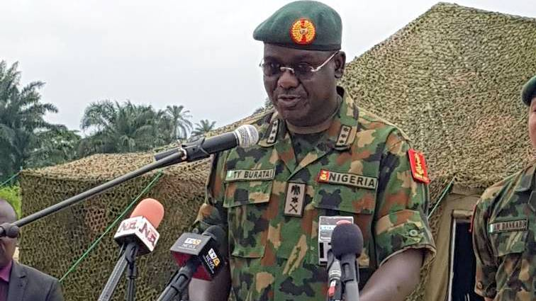 Buratai Relocates To North-East To Fully Wage War Against Boko Haram, ISWAP Insurgents 1