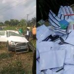 INEC Vehicle Conveying Thumb Printed Ballot Papers Involved In Accident In Akwa Ibom [Photos] 28