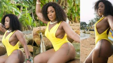 Moet Abebe Shows Off Her Curves In New Bikini Photos, Addresses Critics And Body-Shamers 1