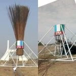 APC Finally Pulls Down Giant Broom At Abuja City Gate [Photos/Video] 27