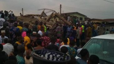 Many Trapped, Injured As Another Three-story Building Collapses In Ibadan 10