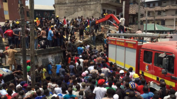 Woman Commits Suicide After Losing Two Children In Lagos Building Collapse 1