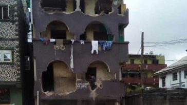 Lagos Begins Demolition Of 180 Houses After Three-storey Building Collapse 8
