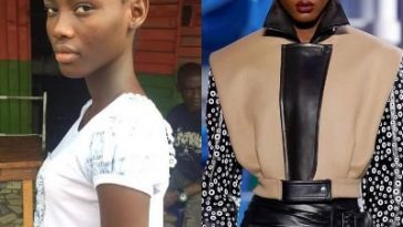 16-Year-Old Girl Janet Jumbo Becomes First Nigerian Model To Walk For Louis Vuitton 7
