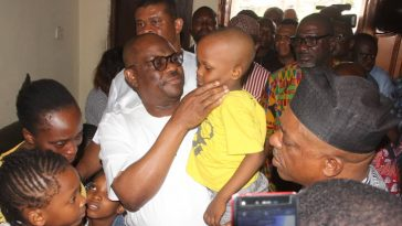 Governor Wike Donates House, N200 Million To Family Of PDP Agent Killed By Police In Rivers 8