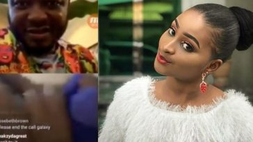Etinosa Finally Reveals Why She Stripped Completely Naked For MC Galaxy On Instagram Video 2