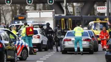 One Dead, Many Injured As Man Opens Fire At Tram Station In Dutch City, Holland 3