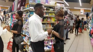 Unhappy Lady Snubs Her Boyfriend After Proposing To Her In Onitsha Mall [Photos/Video] 3