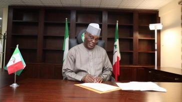 Atiku File Petition Against Buhari's Declaration, Asks Tribunal To Sack The President 11