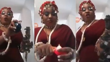 Watch Shameful Edo Woman Based In Spain Using 'Juju' Against Her Rival On Facebook [Video] 1