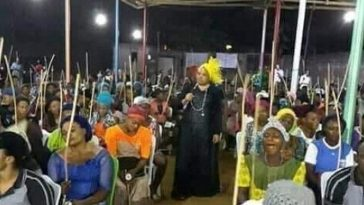 "Desperate Single Women Brings Canes To Church To Flog Their ""Spiritual Husbands"" [Photos] 7"
