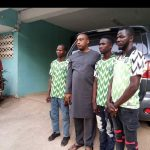 PDP Chieftain Rescues 3 Stranded APC Supporters Who Rode Bicycles To Abuja To Celebrate Buhari 27