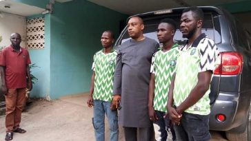 PDP Chieftain Rescues 3 Stranded APC Supporters Who Rode Bicycles To Abuja To Celebrate Buhari 1