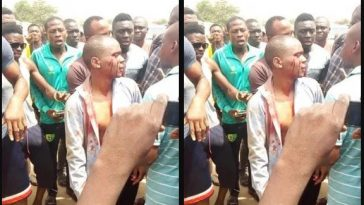 Man Rescued From Being Killed After Kidnapping 4-Year-Old School Girl In Abuja [Photo] 1