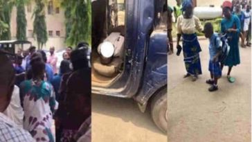 Policemen Beats Civil Defence Officer To Death In Presence Of His Wife And Two Children [Photos] 1