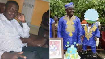 Man Who Spent Over N1.7 Million For Son's Birthday Begs For Financial Help After Being Arrested [Photos] 1