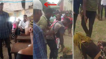 Undergraduate Fights Girlfriend Over N20K In Front Of Schoolmates In Abia [Photos/Video] 2