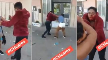 Nigerian Sex Workers Fights Bloody With Each Other Publicly Over Customers In Italy [Photos/Video] 4