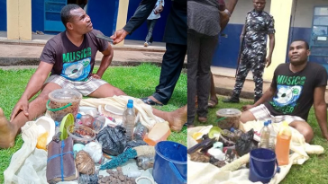 Charms Recovered In House Of Pastor Who Impregnated, Procured Abortion For 17-Year-Old Girl 1