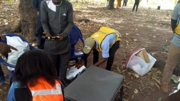 Voters Flee As Thugs Smash Ballot Box, Disrupts Election In Benue State [Photos] 1