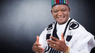 Governor Samuel Ortom Of PDP Declared Winner Of Benue Governorship Election 1