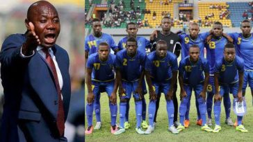 Nigeria's Emmanuel Amuneke Makes History, Returns Tanzania To AFCON After 39 Years Hiatus 1