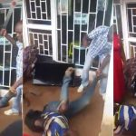 Thief Begs For His Life As Angry Man Uses Machete On Him After Being Caught [Photos] 29