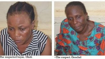 Two Nurses Arrested For Selling Woman's Newly Born Baby N350,000 In Lagos [Photos] 2