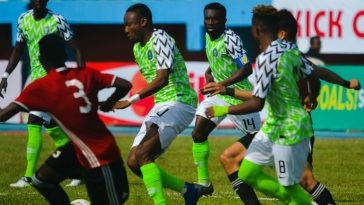 Nigeria U-23 Get N4 Million From Ahmed Musa After Beating Libya In AFCON Qualifies 6