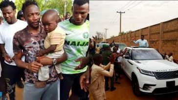 Woman Looking For Menial Job In Asaba Stadium Rewarded With N250,000 By Ahmed Musa 4