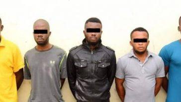 FG Reveals Names Of 5 Nigerians Who Robbed Bureau De Change In UAE, 2 Days After Arriving The Country 1