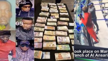 5 Nigerian Arrested For Stealing N226.2 Million From Bureau De Change In UAE, 2 Days After Arriving The Country [Video] 7
