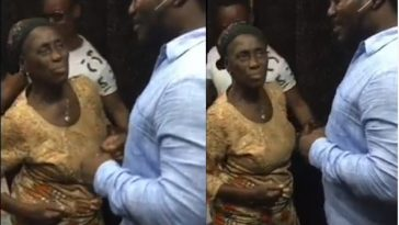 Daddy Showkey Celebrates His Mum By Dancing With Her As She Clocks 80 [Video] 1