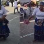 Christian Mother Shows Off Her Amazing Zanku Legwork, Shaku Shaku Dance Step [Video] 3