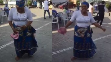 Christian Mother Shows Off Her Amazing Zanku Legwork, Shaku Shaku Dance Step [Video] 1