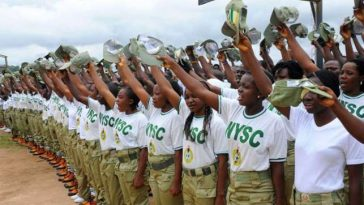 Government Increases Monthly Allowance Of NYSC Members By 100% 1