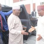 """""""PDP Is Blessed To Have A Political Gladiator Like You"""" - Atiku Congratulates Wike 30"""