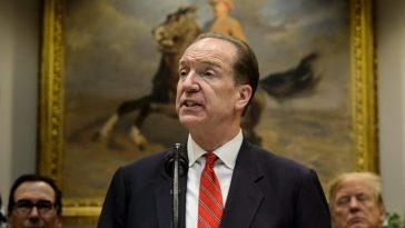 Breaking News: David Malpass Emerges New World Bank President 1