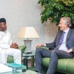 Former UK Prime Minister Tony Blair Meets With VP Osinbajo In Aso Rock 28